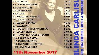 Belinda Carlisle Heaven 30th Anniversary 11 Nov 2017 Singapore in Full(((PlayItLoud!!))))