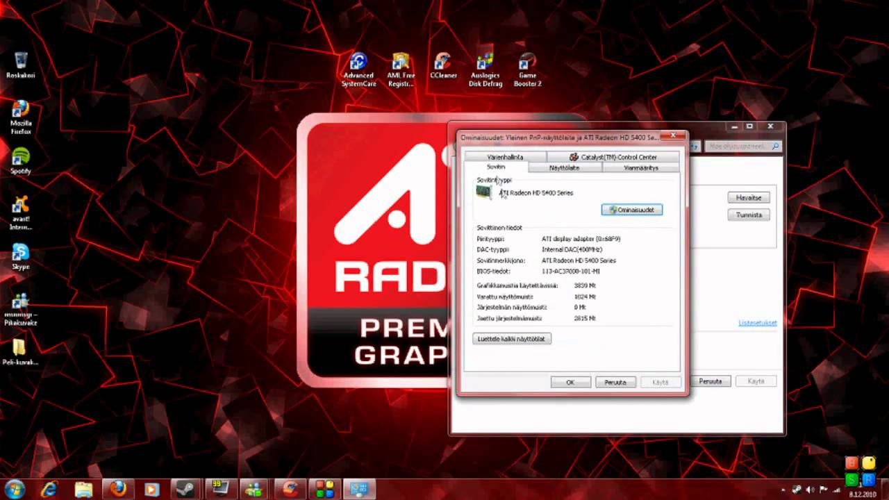 ATI Radeon HD Drivers Download for Windows 10 7 8/ Vista (64/32 bits)