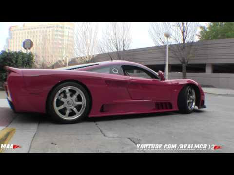 Saleen S7 Twin Turbo-Start up, Engine Sound and Walkaround