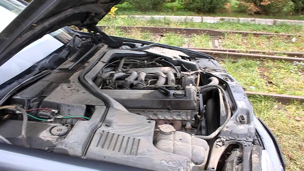 mercedes benz w140 with 3 0 diesel om603 912 start rev and
