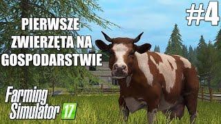 Farming Simulator 17 (#4) - Kupujemy pierwsze zwierzęta na farmę! cz. 1