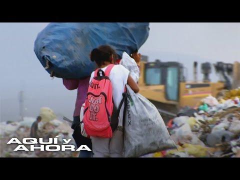 Trabajo infantil y pagos de miseria en reciclaje para la gran industria refresquera