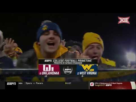 Oklahoma vs West Virginia Football Highlights