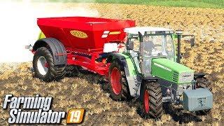Rozsiewanie wapna - Farming Simulator 19 | #4