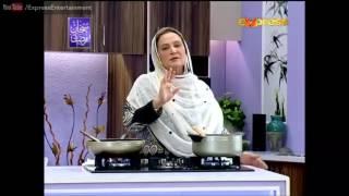 Cooking Expert Naheed Ansari - 2 July 2016 | Express Entertainment
