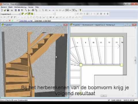 Программа проектирования лестниц StairCon