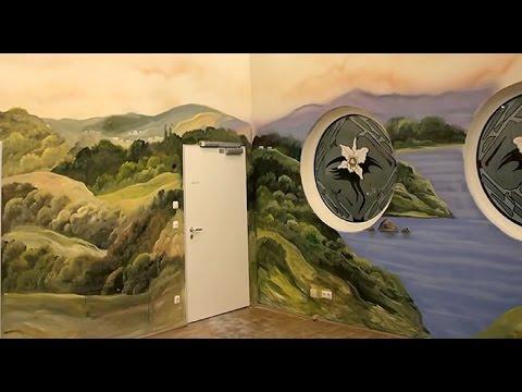 Mural, Wandmalerei, Illusionsmalerei