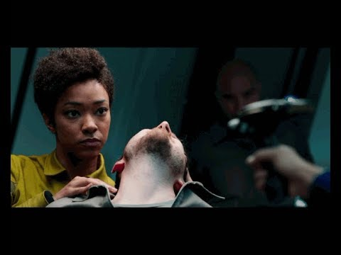 Star Trek Discovery | Michael Burnham VS Prisoners Fight Scene |  Welcome To U.S.S. Discovery