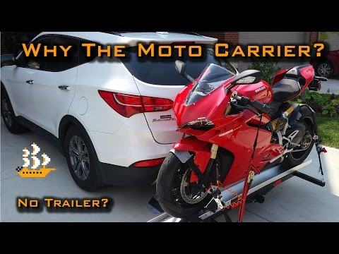 Tinkering | Motorcycle Carrier? | Not A Trailer? | SMC-600R
