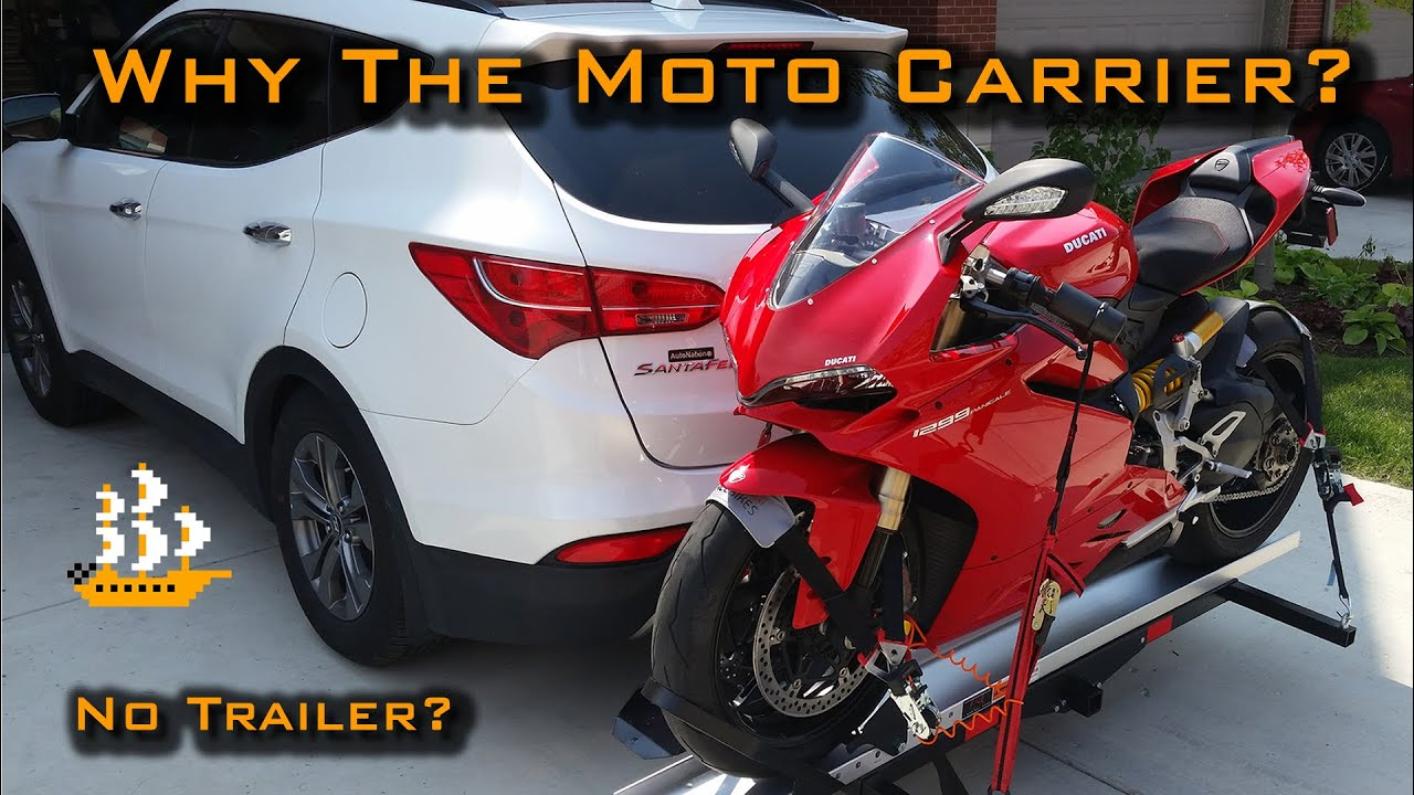 Tinkering Motorcycle Carrier Not A Trailer Smc 600r Youtube