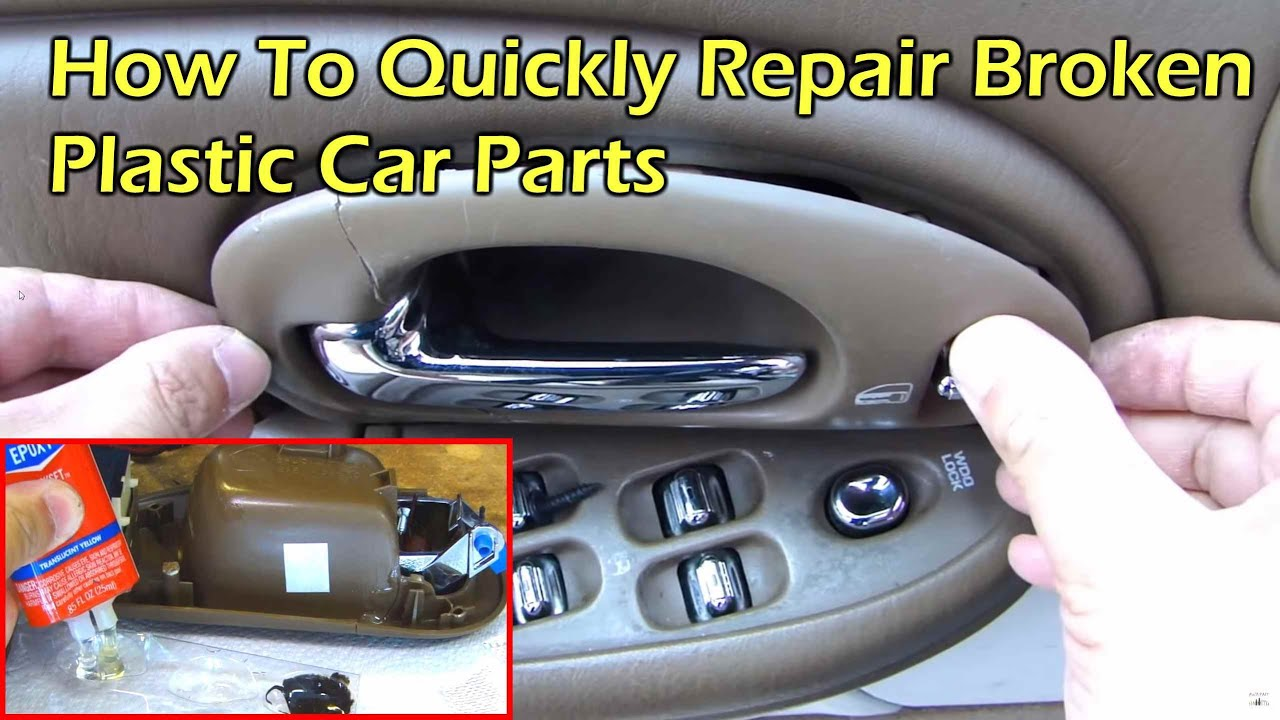 how to repair broken plastic car parts youtube. Black Bedroom Furniture Sets. Home Design Ideas