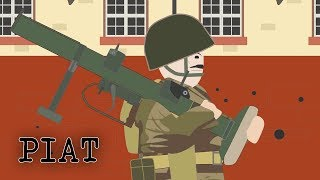 The PIAT (Anti-tank weapon)