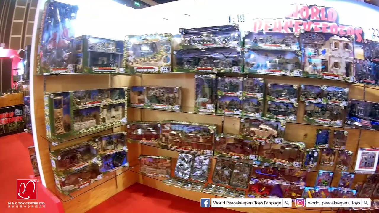 [World Peacekeepers] New product & Hong Kong Games and Toys Fair 2018 - YouTube