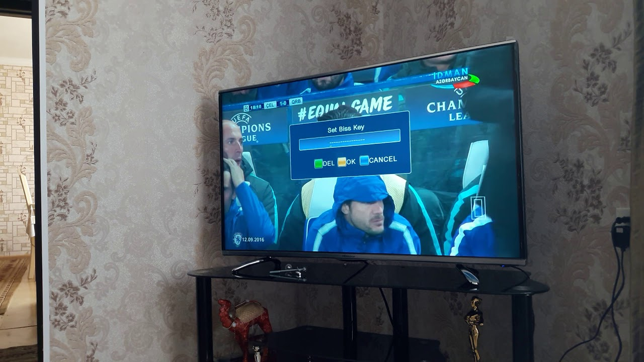 TV' ye BİSS şifresini girme