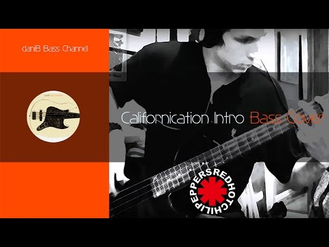 Red Hot Chili Peppers Californication Intro Bass Cover TABS daniB5000