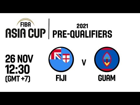 Fiji v Guam - Full Game - FIBA Asia Cup 2021 Pre-Qualifiers  2019