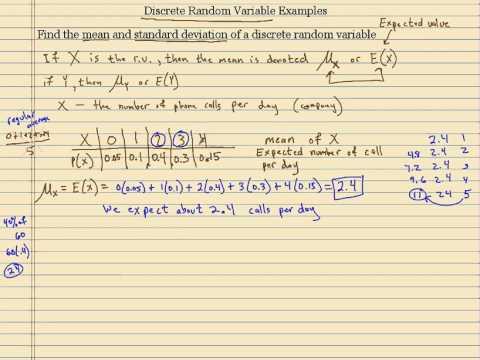 what is discrete random variable pdf