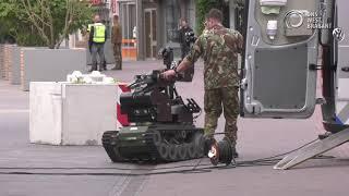 Explosief aangetroffen na mislukte plofkraak in Zundert