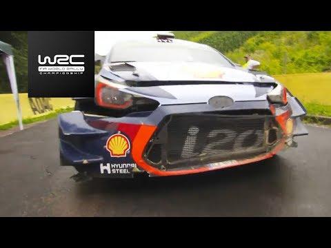 WRC - ADAC Rallye Deutschland 2017: Highlights Stages 1-4