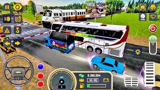 Mobile Bus Simulator #4 - New Bus Game Android gameplay