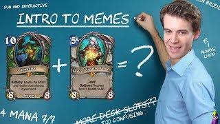 (Hearthstone) Memeing 101