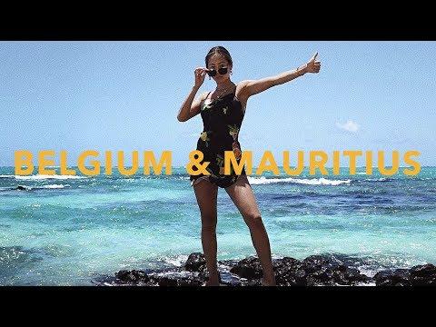 $10 Million Diamond Shopping  Antwerp & Mauritius Travel Vlog  Aimee Song