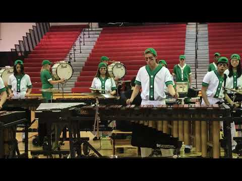 2018 New Providence High School Indoor Drumline at Woodbridge HS 2/24/2018