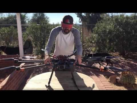 Tarot T-18 Octa-copter Drone for sale - YouTube