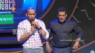 Salman Khan - Ali Quli Mirza On Stage Masti - BIGG BOSS 9 Launch 2015