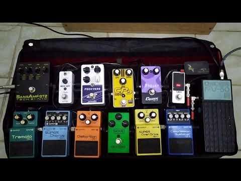 Set De Guitarra (pedalboard)