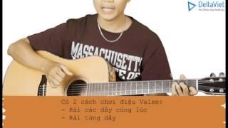 Sách tự học Guitar Đệm Hát (Lê Vũ Acoustic) - Bài 04 - Tiết điệu Valse