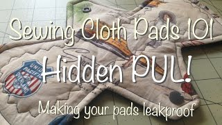 Sewing Cloth Pads 101 - How to Include a PUL Layer thumbnail
