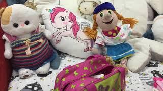 Все уехали в ЛЕТНИЙ ЛАГЕРЬ. ЖАСМИН и Баба-Яга собирают вещи / Семейка Басиков и Мисс Фаина