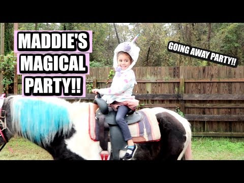 MADDIE'S UNICORN PARTY + ROAD TRIP TO TEXAS DAY 1 (400th Vlog)