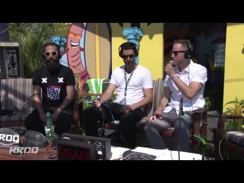 Capital Cities Interview - KROQ Weenie Roast 2014