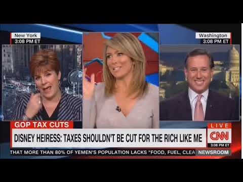 Rick Santorum Expertly Torpedoes Chris Quinn's Fearmongering on CHIPS and the GOP Tax Bill