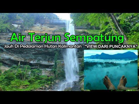 Borneo Paradise - Waterfall Mbatung (Ampar Jawa) Wonderful Indonesia