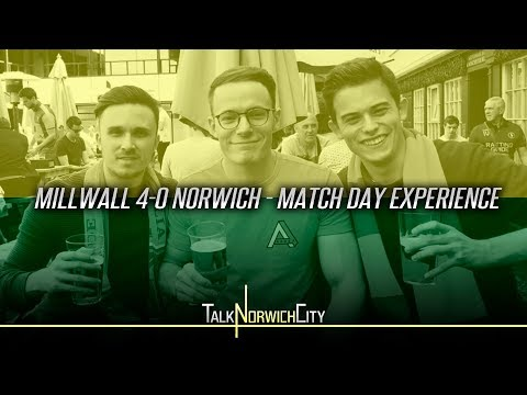 MILLWALL 4-0 NORWICH - MATCH DAY EXPERIENCE