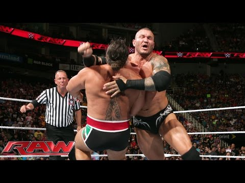 John Cena, Randy Orton & Cesaro vs. Kevin Owens, Sheamus & Rusev: Raw, July 20, 2015