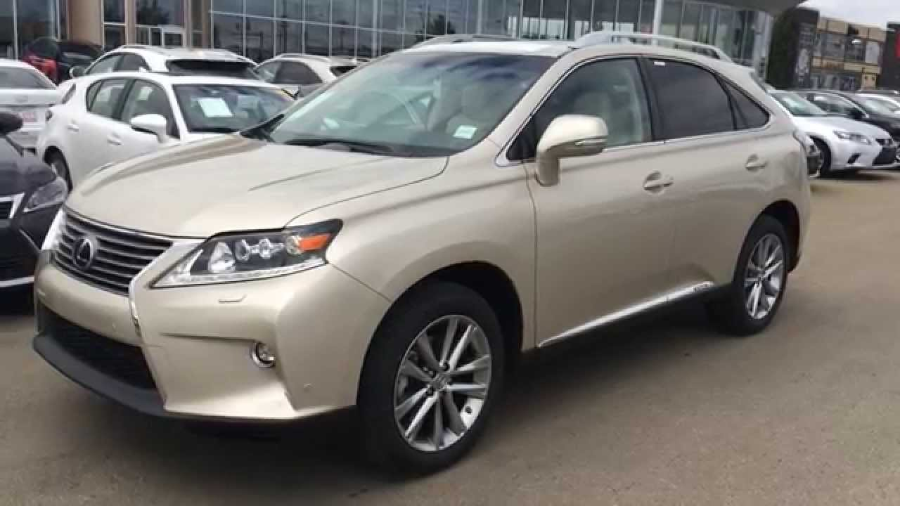 2015 lexus rx 450h hybrid awd review youtube. Black Bedroom Furniture Sets. Home Design Ideas