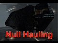 Quad Client Null Hauling - Presented in 4k - EVE Online Live