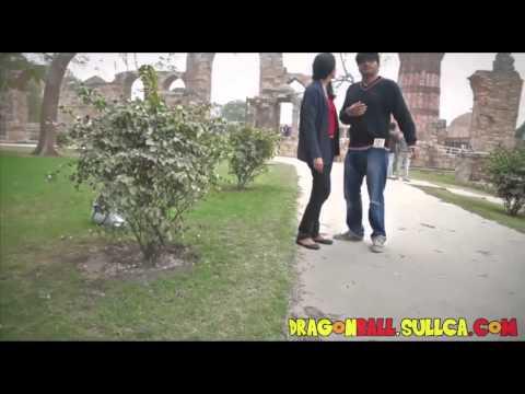 Gokú existe, y esta de paseo por la India thumbnail