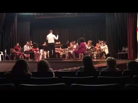 Sheffield High School Band Plays: Midnight Escape: BAND DIRECTOR: Zack O'Bryant