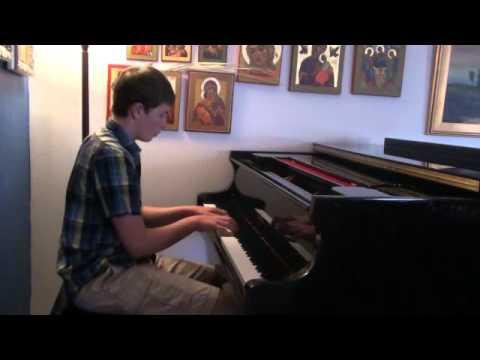 "Frederic Chopin: Etude Op. 25 No.12 ""Ocean"""