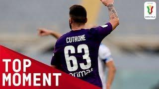 Cutrone Scores First Fiorentina Goal! | Fiorentina 2-1 Atalanta | Top Moment | Coppa Italia