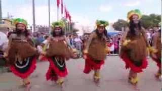 Tari Kreasi Yospan Yosim Pancar Papua Afyonkarahisar Folk Dance Festival