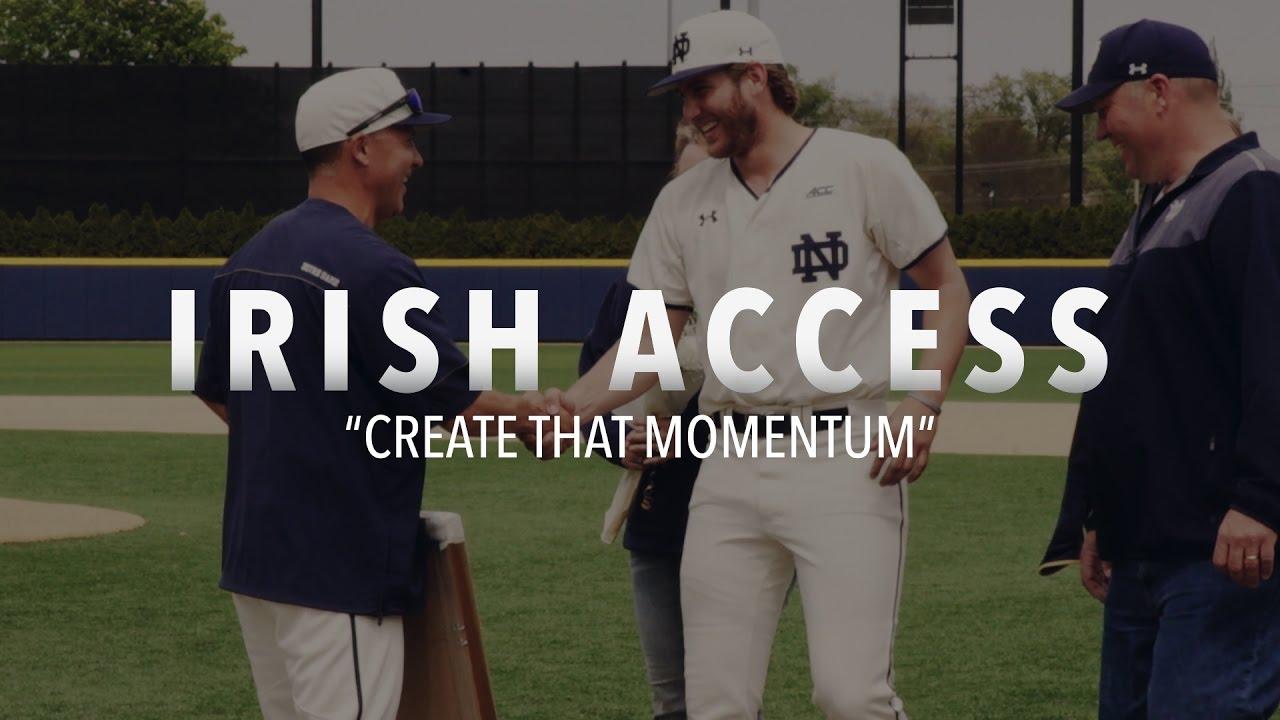 "Irish Access | ""Create That Momentum"" – Notre Dame Fighting"