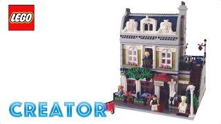 Lego Creator Parisian Restaurant Review! Lego 10243