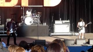 Silversun Pickups The Pit and Nicki's Pregnancy @ BFD 2013 @ Shoreline on May 19, 2013