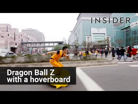 Dragon Ball nimbus cloud hoverboard